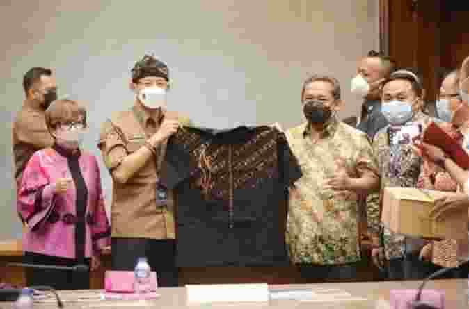 Pemkot Bandung Minta Dukungan Kemenparkraf Kembangkan pariwisata dan Industri kreatif