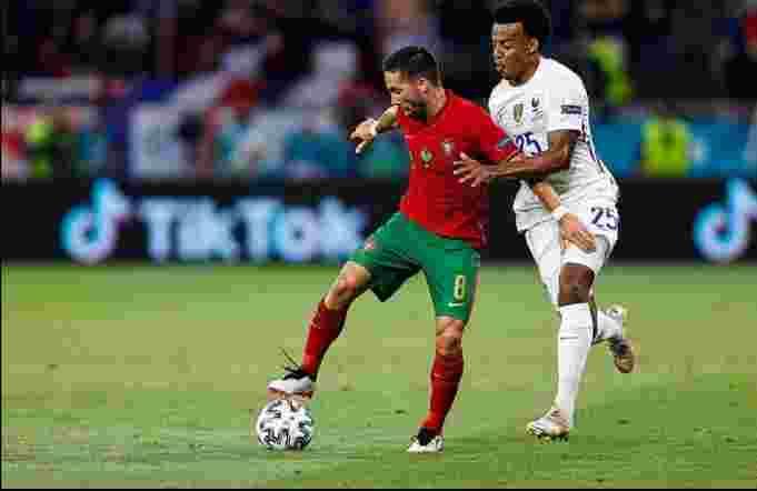 Euro 2020: Portugal Vs Prancis Skor 2-2, Dua Penalti untuk Ronaldo