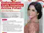 Endorsement Gratis untuk Pelaku UMKM, Annisa Pohan Yudhoyono: Gratis Selama Bulan Agustus